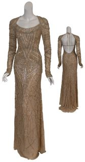 ESCADA Couture Amazing Beaded Eve Gown $24 500 36 6 New