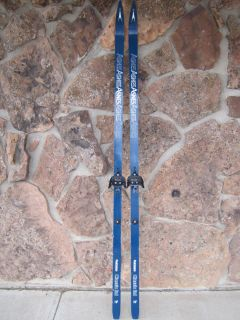 Asnes Classic Ltd Quickstep Cross Country Skis w Bindings 195cm