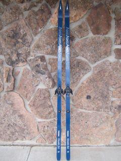 Asnes Classic Ltd Quickstep Cross Country Skis w Bindings 195cm