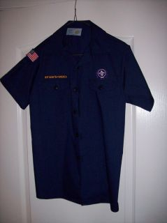 official boy scouts of america cub scout shirt excellent condition no