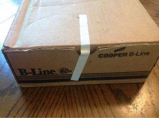 Cooper B Line BA 4 16 H T Bar Sign Hanger Clip Steel White UL Listed