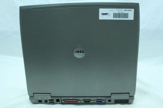 Dell Latitude D610 Laptop P4 M 2 13GHz 40GB 1GB DVD CDRW XP 3 WiFi