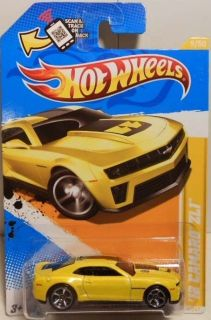 Hot Wheels 12 Camaro ZL1 New Release 2012 New Models Yello Variation