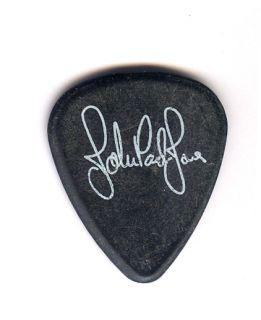 WOW RARE ACTUAL GUITAR PICK   JOHN PAUL JONES LED ZEPPELIN TOUR PICK