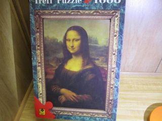 Trefl 1000 PC Puzzle Mona Lisa Leonardo Da Vinci