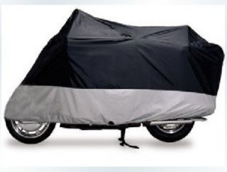 Heavy Duty Bike Outdoor Cover Waterproof Touring & Cruisers w/ case