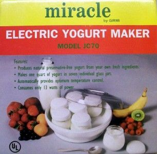 salton yogurt maker instructions