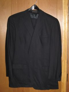 MENS BLUE 2 PIECE SUIT 46 LONG