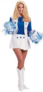 DALLAS COWBOYS CHEERLEADER   ADULT SMALL Costume *NEW*