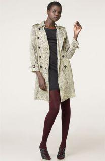 3.1 Phillip Lim T Shirt Dress & Leopard Print Silk Trench Coat