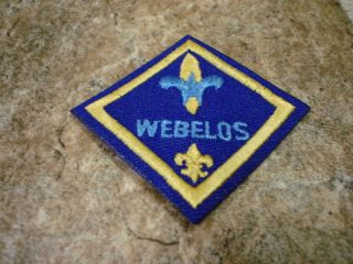 Cub Boy Scout Webelos Badge Patch Scouts of America
