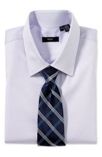 BOSS Black Tailored Fit Dress Shirt & Burberry Tie