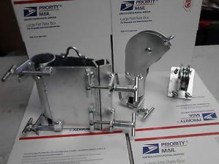 HAM RADIO ROHN TOWER clamp hoist Wireless pully set Install antenna