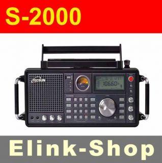 TECSUN S 2000 HAM Amateur Radio SSB Dual Conversion PLL FM/MW/SW/LW