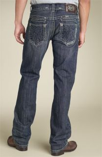 MEK Denim Dubai Straight Leg Jeans (Dubai Medium Blue Wash)