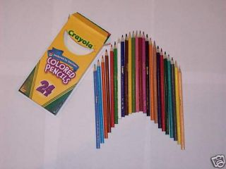 Crayola Colored Pencils 24 Color Set