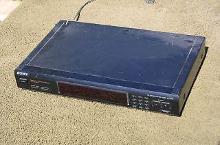 Sony ST JX661 AM FM Stereo Tuner Digital Synthesizer Preset 30