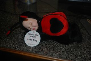 Lady Bug Cuddle Bug Babies by Madame Alexander New with Tags