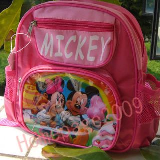 NEW CUDDY Mickey Minnie Mouse Love Girls Shoolbag Small backpack
