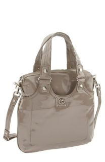MARC BY MARC JACOBS Totally Turnlock   Patent Mag Satchel
