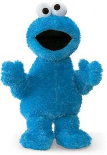 GUND Sesame Street Large COOKIE MONSTER 21 Soft Toy NEW 13571