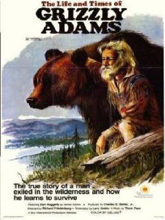 Grizzly Adams Complete TV Series DVD Dan Haggerty RARE