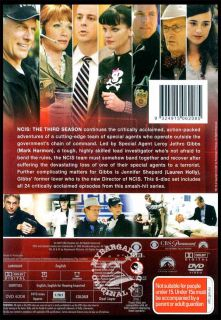 NCIS Complete Season 3 New DVD SEALED R4 6 Disc