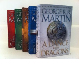 Dance with Dragons Game of Thrones Hardcover Set Brand New George R