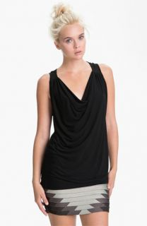 Haute Hippie Draped Tank