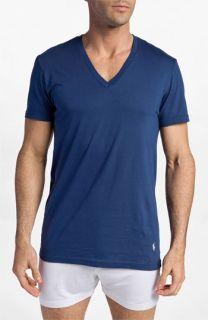 Polo Ralph Lauren V Neck T Shirt (Assorted 3 Pack)