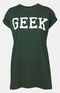 Topshop Geek Graphic Tee