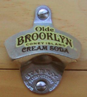 Olde Brooklyn Coney Island Cream Soda Starr Opener New