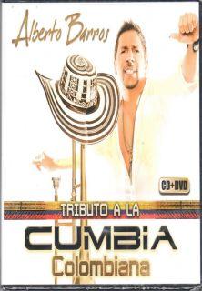 Alberto Barros Tributo A La Cumbia Colombiana CD DVD