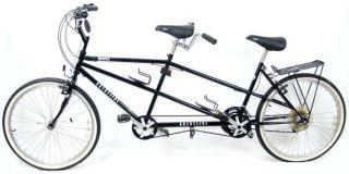 Crestline Tandem Bicycle Black Shimano SIS Brake GT Supersoft Seat 2