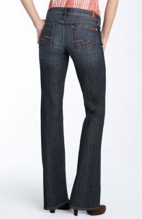 7 For All Mankind® Bootcut Stretch Jeans (Indigo Wash) (Long)