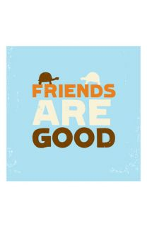 Friends Are Good Hardcover Book