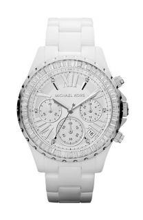Michael Kors Madison Crystal Bezel Ceramic Watch