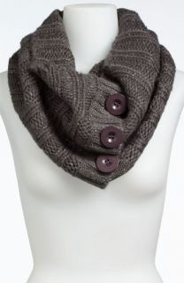 Steve Madden Button Up Infinity Scarf