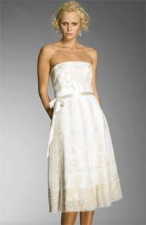 BCBG Max Azria Strapless Tulle Dress