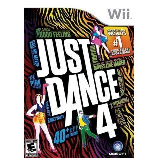 Just Dance 4 Video Game Nintendo Wii