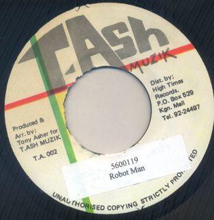 Ash Killer Dancehall 45 Robot Man aka Pampidoo 5600119 Bam Bam