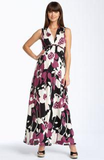 Olian Maternity Alley Print Maxi Dress
