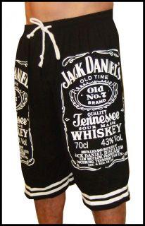 Jack Daniel Daniels Daniels No 7 JD Wiskey New Black T Shirt Shorts
