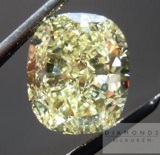 Cut Fancy Yellow SI1 GIA Wonderful Cut R4424 Diamonds by Lauren