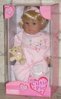 My Cutie Pie Baby Doll 18 for Play Rebornig Kingstate