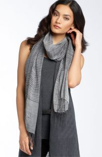 Eileen Fisher Airy Linen Blend Wrap
