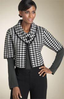 Anne Klein New York Houndstooth Jacket