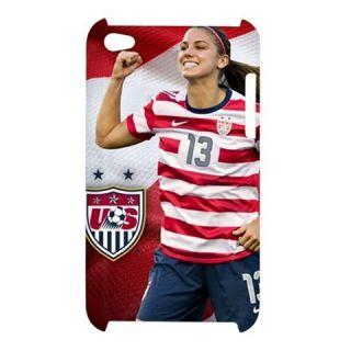 Morgan Soccer Woman Custom Apple iPod Touch 4G Hardshell Case