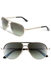 Tom Ford Marko Metal Aviator Sunglasses