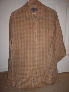 Daniel Hector Mens Linen Shirt XXL